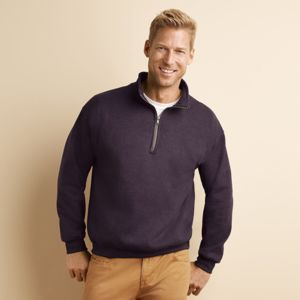 Heavy Blend™ cadet collar sweatshirt Thumbnail
