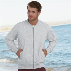 Baseball sweatshirt jacket Thumbnail