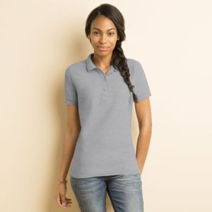 Women's premium cotton double piqué sport shirt Thumbnail