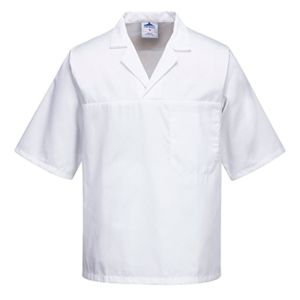 Portwest Short Sleeve Bakers Shirt Thumbnail