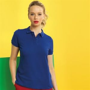 Women's poly/cotton blend polo Thumbnail