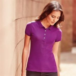 Women's stretch polo Thumbnail