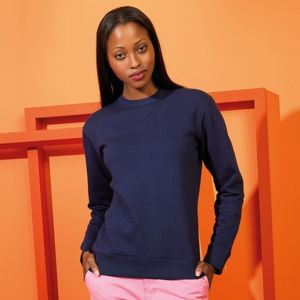 Women's organic crew neck sweatshirt Thumbnail