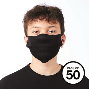 Logo Printed Face cover (pack of 50) Thumbnail